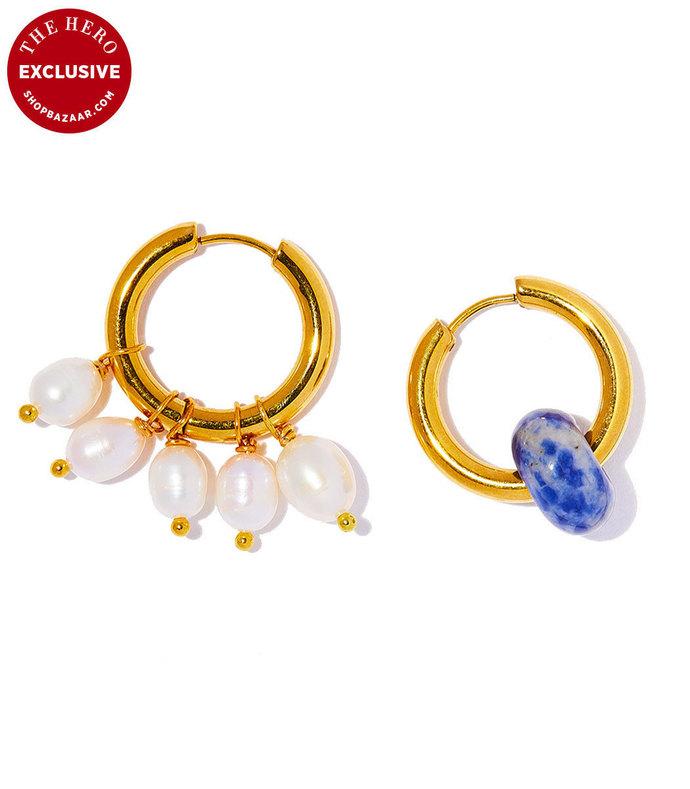 exclusive earring in pearl