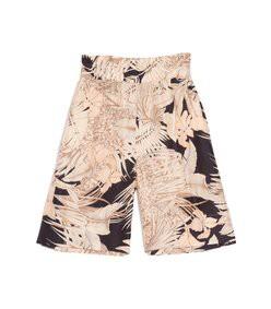 zareena shorts in 70s floral