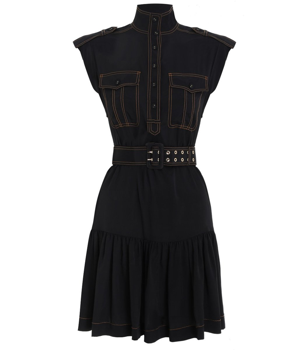 Zimmermann Utility Dress in Black