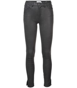 charcoal le high skinny trousers