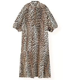 cedar dress in leopard