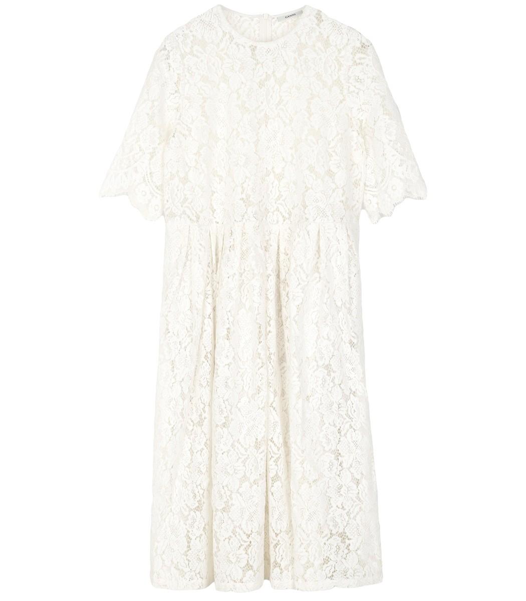 White Egret Jerome Lace Dress