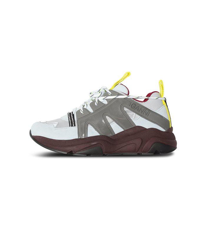 tech sneaker in grey dawn