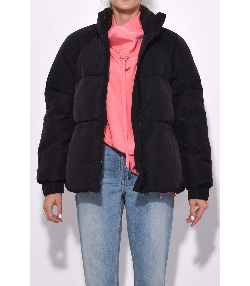 GANNI Downs Whitman Jacket in Black