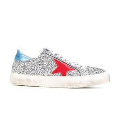 silver may glitter sneaker
