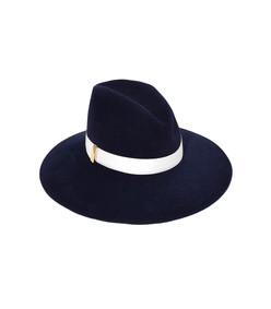 navy drake hat