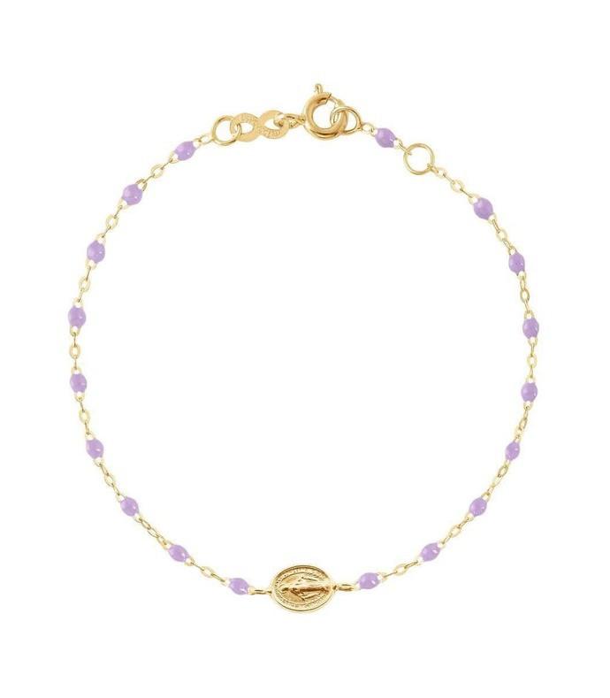madone charm classic gigi bracelet - 6.7in - lilac