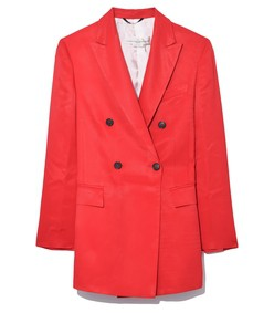 valerie jacket in red