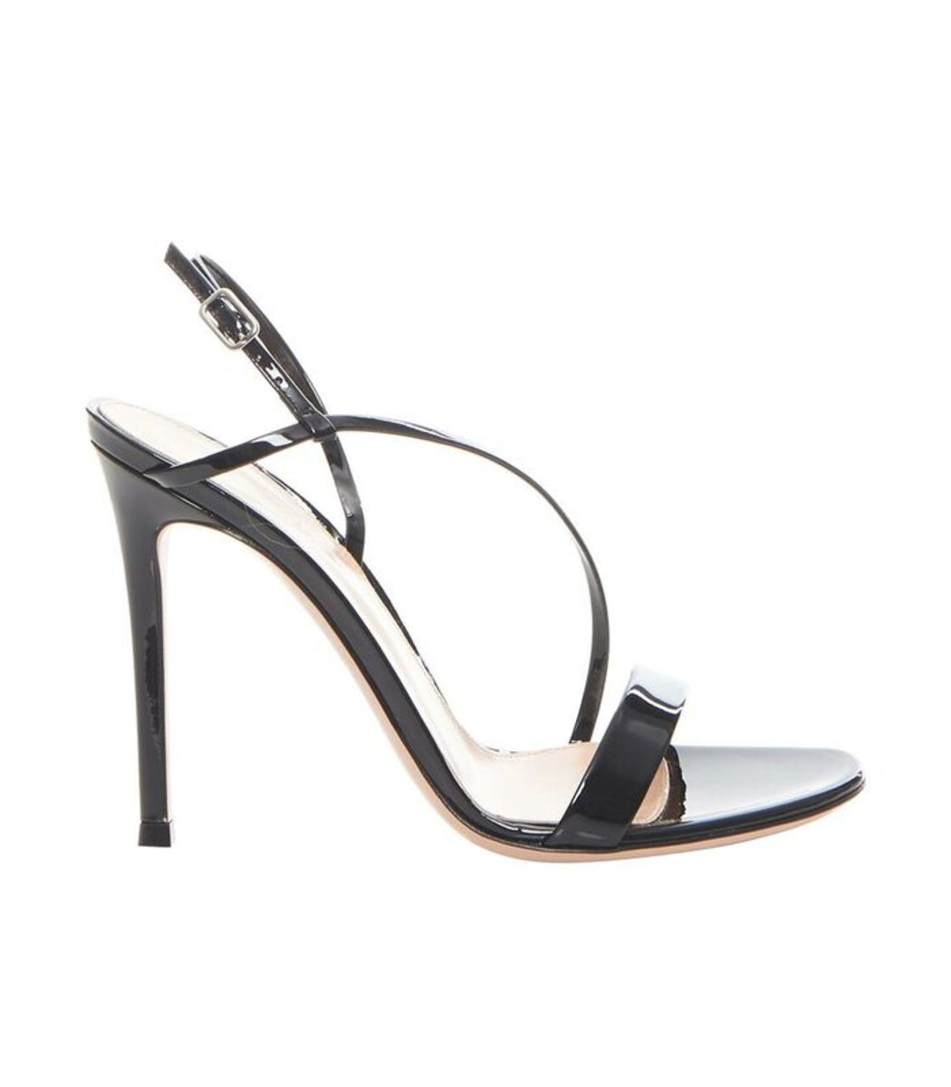 Manhattan Strappy Patent Leather Sandal