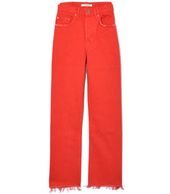 red flores linda high rise jeans