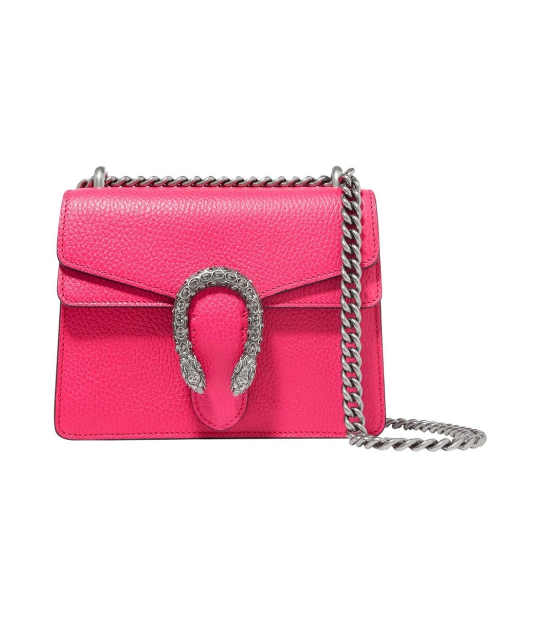 Gucci Dionysus Leather Crystal Mini Bag YwPNq