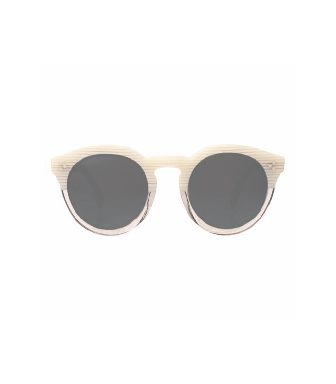 leonard ii sunglasses in cream stripes