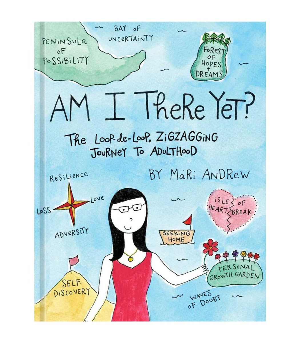 INGRAM BOOKS Multicolor Am I There Yet: The Loop-de-loop  Zigzagging Journey to Adulthood