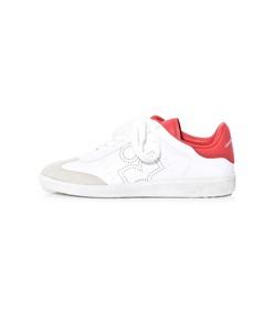 bryce sneaker in red