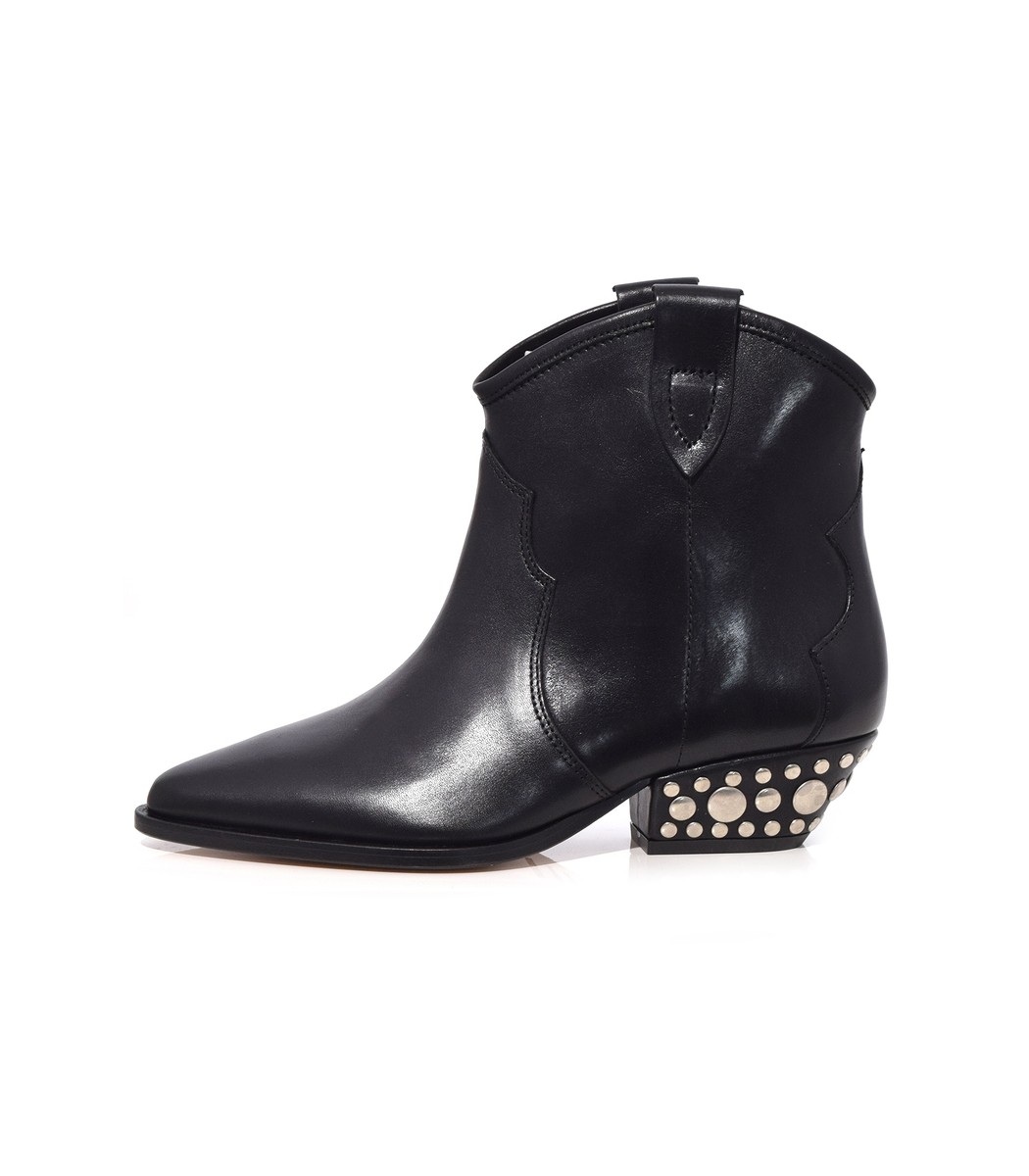Dawyna Boot In Black by Isabel Marant