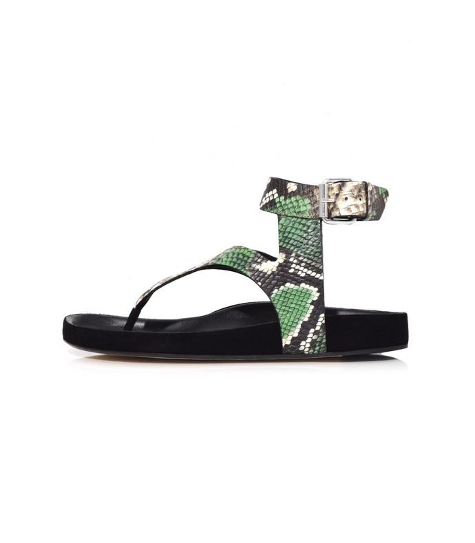 green elwina sandal