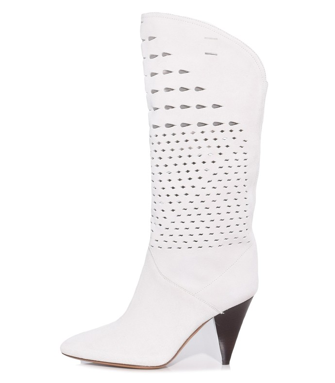 8ac6b9d8c61 Isabel Marant. Lurrey Boot in White