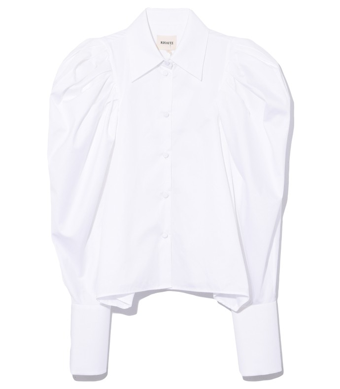 brianne top in white