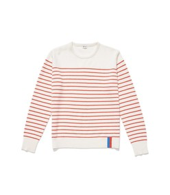 cream/red the sophie sweater