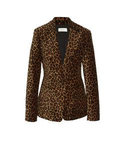 mercer leopard-print blazer