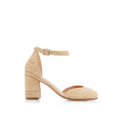 carrie forbes laila raffia sandals