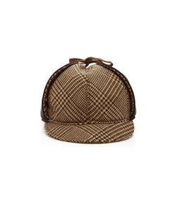 blake houndstooth wool tweed cap