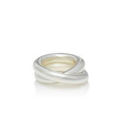 over sterling silver ring