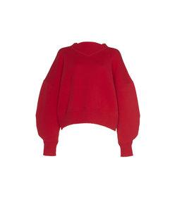 karl overisized knit sweater