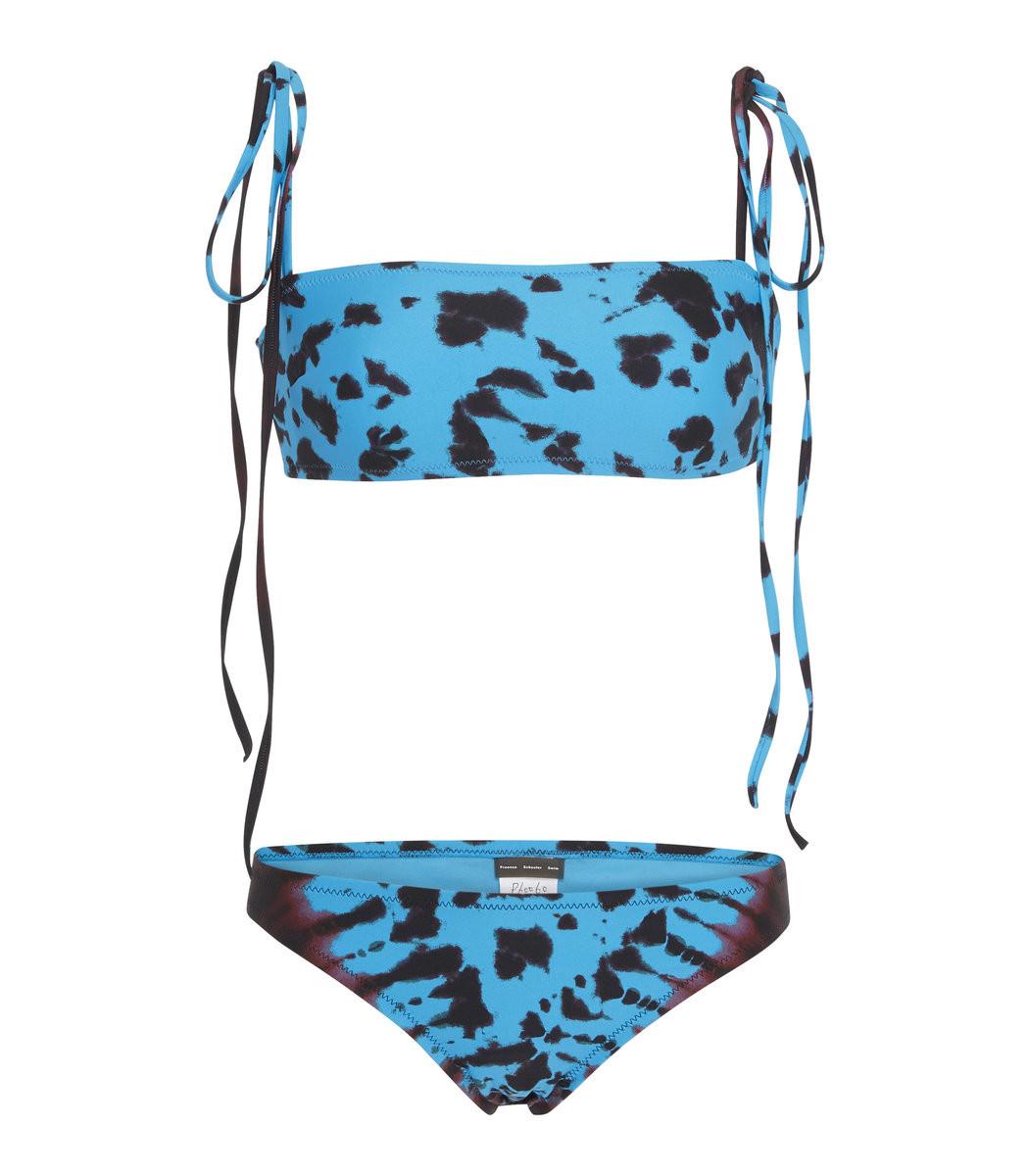 5f98adaee1 Home   Proenza Schouler   Tie-Dyed Bandeau Bikini Set. prev