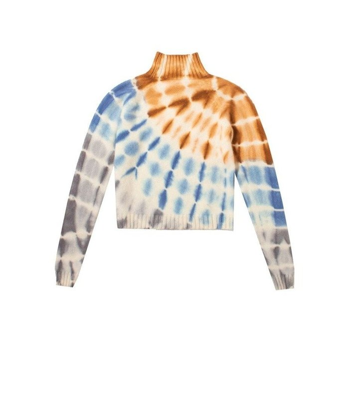 crop cashmere sweater