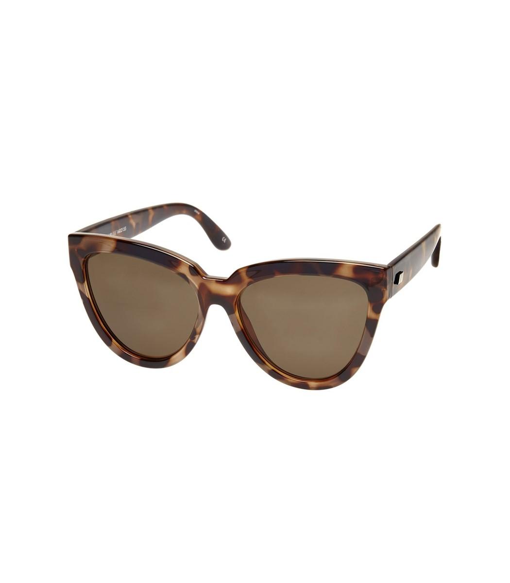 LE SPECS Liar Liar Sunglasses in Volcanic Tort