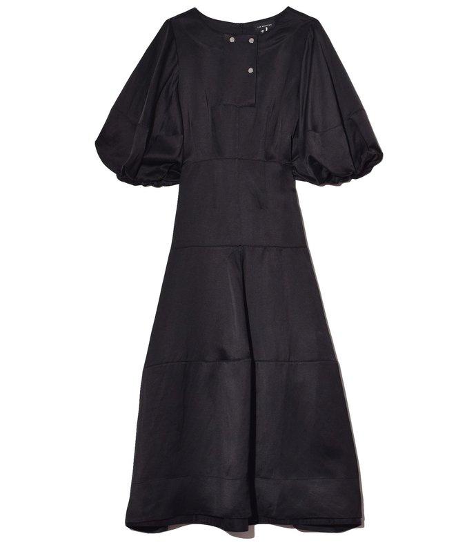 juliette lantern dress in black