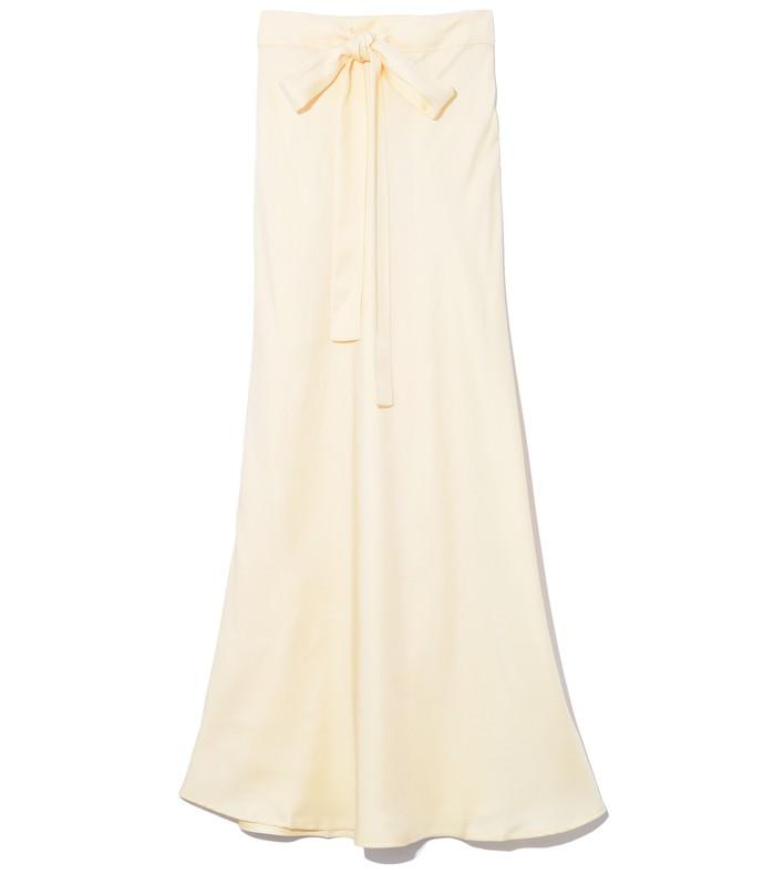 didion skirt in lemon