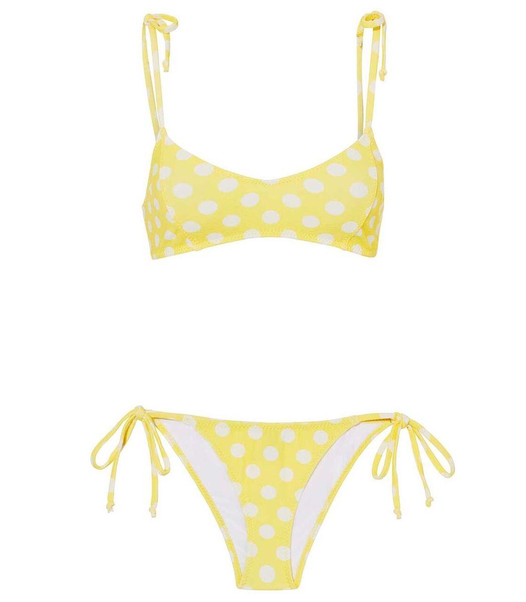 Lisa Marie Fernandez Polka Dot Bikini