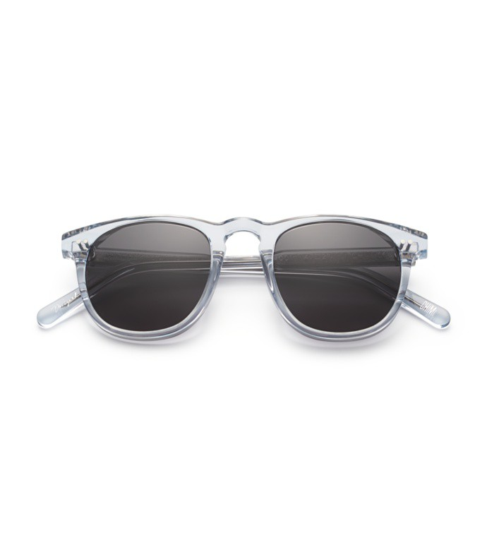 #001 black sunglasses in litchi