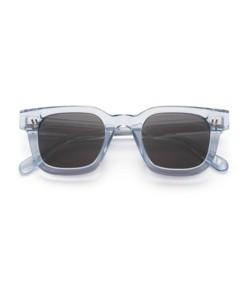 #004 black sunglasses in litchi