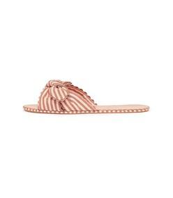 brique/blush shirley sandal