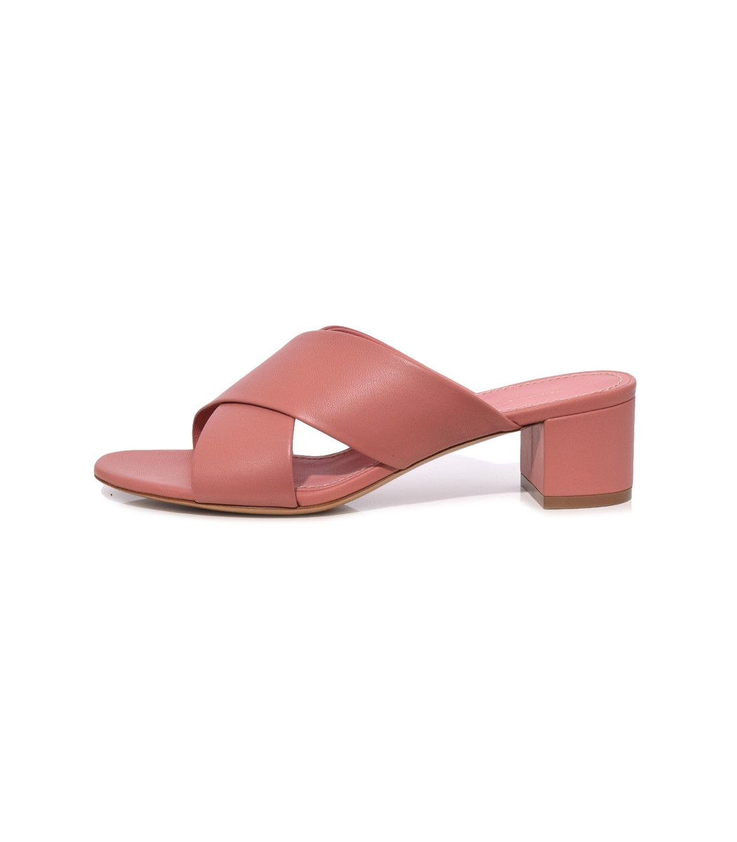 Blush Crossover Sandal