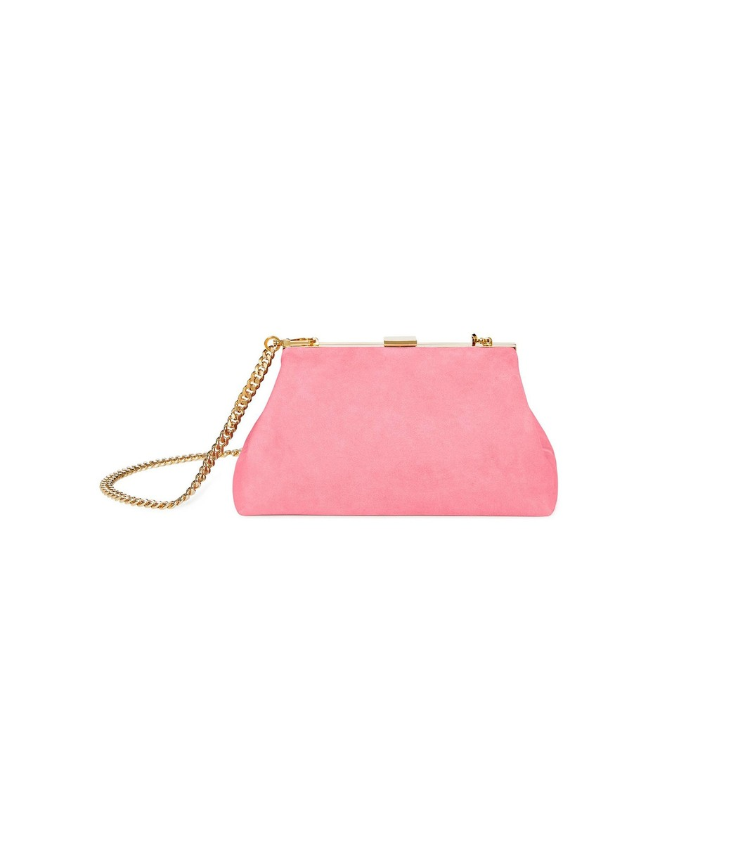 MANSUR GAVRIEL Blush Mini Volume Clutch Bag