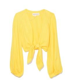 gianna top in yellow