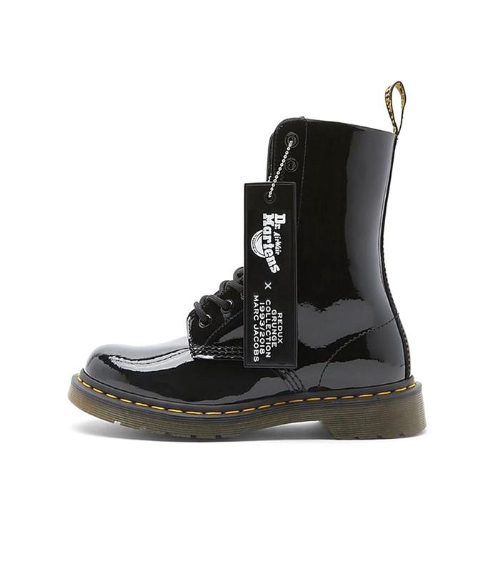 dr marten x marc jacobs boot in black