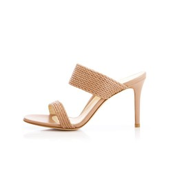 foxy heel in blush