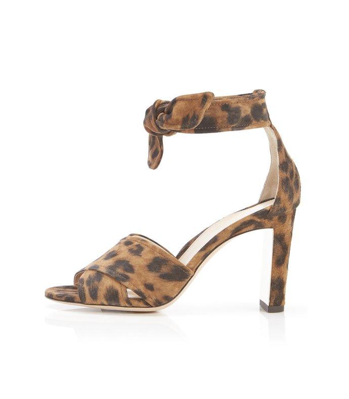 leah sandal in leopard