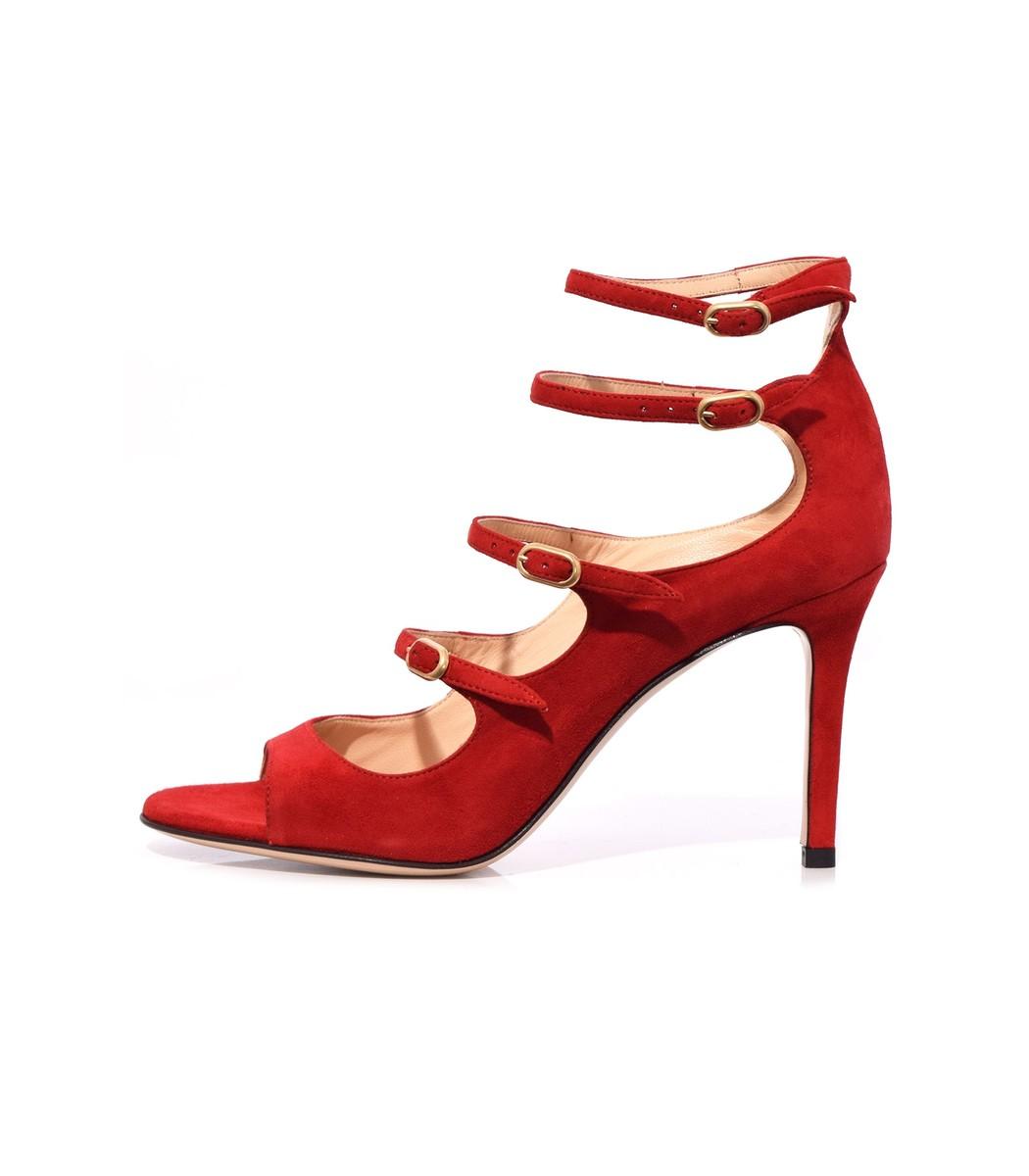 MARION PARKE Red Lennox Sandal