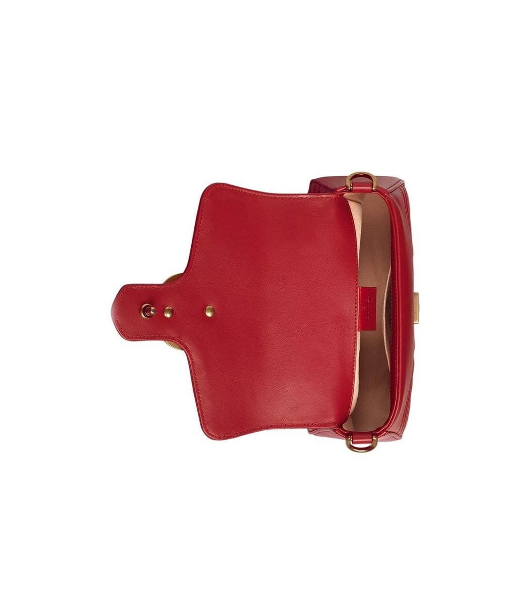 027b474aac47bf Home / Gucci / GG Marmont mini top handle bag. prev