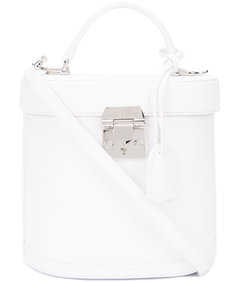 white 'benchley' pebbled bag