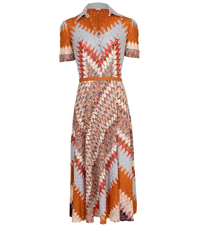 henley polo dress