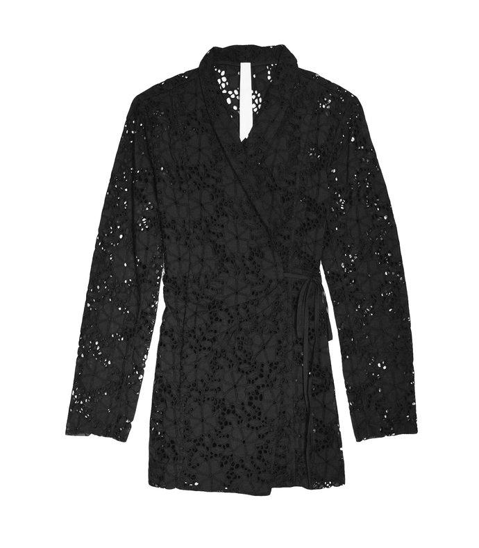 zahara jacket in black