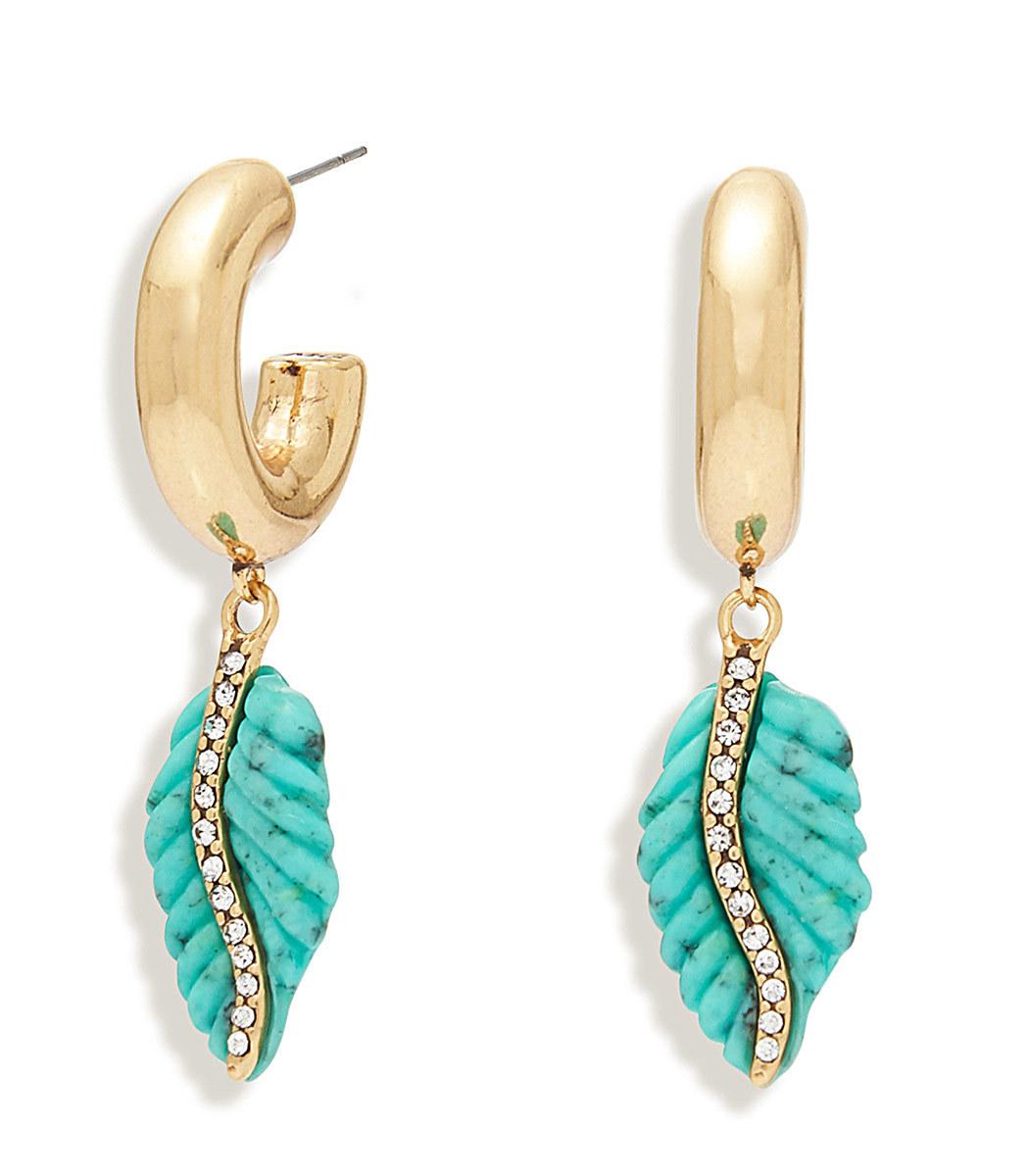 Mignonne Gavigan Serenity Earrings Turquoise