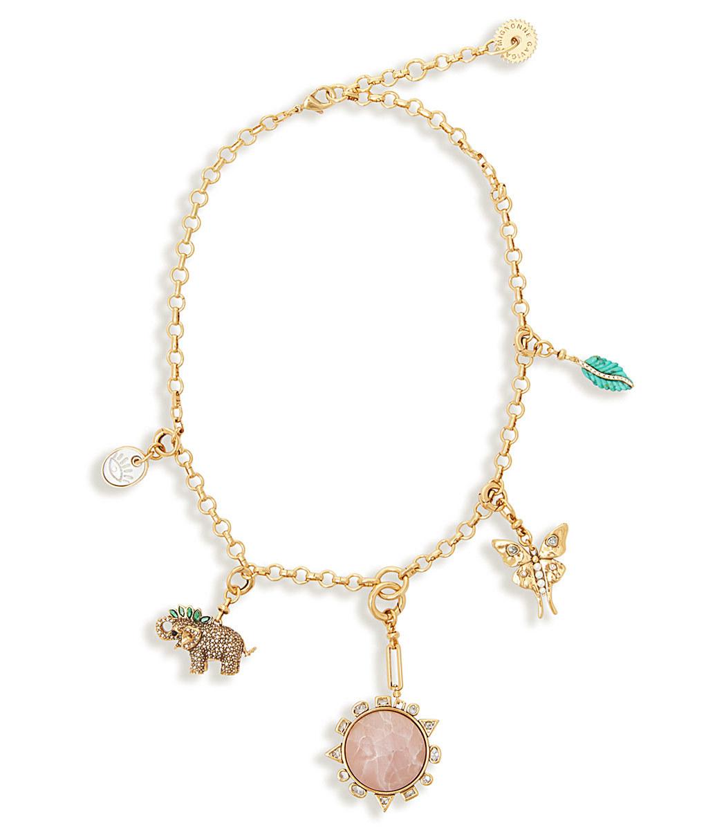 Mignonne Gavigan Menagerie Necklace Blush